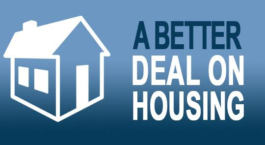 A Better Deal On Affordable Housing