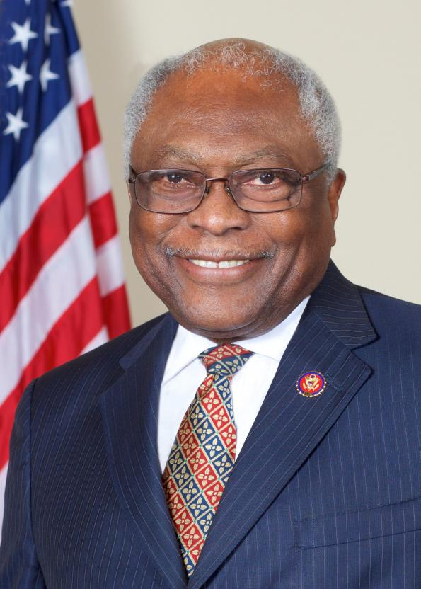 Congressman James E. Clyburn Official Photo